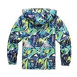 SoonerQuicker Sport Mantel Kinder Kinder Im Freien Wasserdicht Mit Kapuzenjacke Warm Halten Mantel Kleidung
