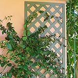 immagine prodotto Grata/pannelli grigliati in LEGNO COMPOSITO 1x0,50 m. Set 2 unità. Colore verde naturale. Gamma B Cottage