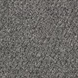 Kunstrasen Rasenteppich mit Noppen | Höhe ca. 7,5mm | 133, 200 und 400 cm Breite | grau | Meterware, verschiedene Größen | Größe: 4 x 4 m