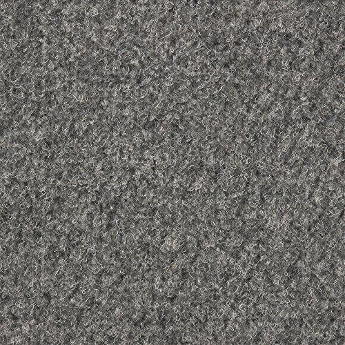 Kunstrasen Rasenteppich mit Noppen   Höhe ca. 7,5mm   133, 200 und 400 cm Breite   grau   Meterware, verschiedene Größen   Größe: 4 x 4 m