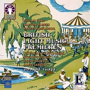 British Light Music Premieres, Vol 3