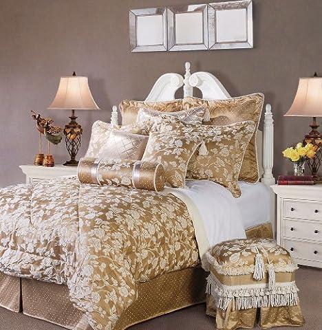 Jennifer Taylor 4 Pcs Comforter Set,Full Size, HEIRLOOM Collection