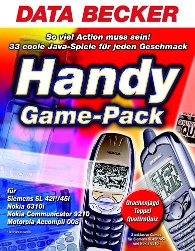 Handy Game-Pack, 1 CD-ROM Für Siemens SL 42i/45i, Nokia 6310i, Nokia Communicator 9210, Motorola Accompli 008. Für Windows 98/98SE/ME/NT4/2000/XP