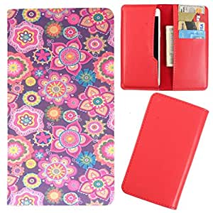 DooDa - For XOLO Q610s PU Leather Designer Fashionable Fancy Case Cover Pouch With Card & Cash Slots & Smooth Inner Velvet