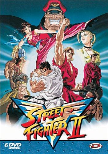Street fighter II V : l'intégrale - Coffret 6 DVD