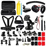 Soft Digits 48 in 1 Accessories Kit for GoPro Hero 5 4 3+ 3...