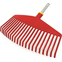 WOLF-Garten UIMC Multi-Change Leaf Rake Lawn Care Tool Head, Red, 46.5x6.5x4.2 cm