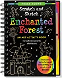 Enchanted Forest Scratch and Sketch: An Art Activity Book for Artistic Wizards of All Ages