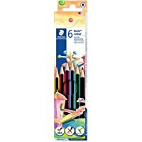 Noris colour Colouring Pencil, Assorted Colours, Pack of 6