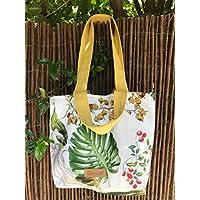 Shopper bag Tropical yellow