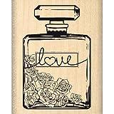 Florilèges Design FC213003 Tampon Scrapbooking Bouteille de Parfum Beige 5 x 4 x 2,5 cm...