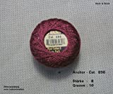 10 gr. Perlgarn, Stärke 8, Farbe: 896, Fabrikat: Anchor, Hardanger