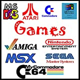 InsideMix ⭐ 800 Giochi Vintage Games Retrogames Giochi Anni 80 Giochi Anni 90 Funzionanti su Windows e MAC su PEN USB 64GB 3.0 Senza Bisogno di Emulatore Giochi Amiga Commodore PC Atari Sega Nintendo