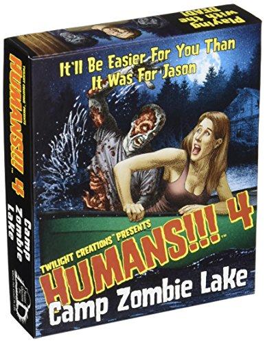 Preisvergleich Produktbild Twilight Creations TLC02203 - Brettspiele, Humans 4, Camp Zombie Lake