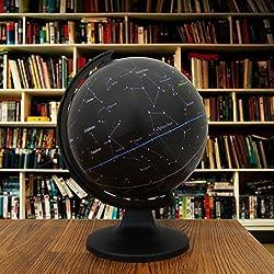 """Decorativo desktop globo giratorio Constelación Estrellas Globos de vector de la decoración 11.3"""""""