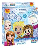 CRAZE 54353 Rainbow Beadys - Set Creativo di Perline da Stiro Disney Frozen con Accessori, 2200 Perle, Colore: Blu