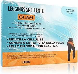 Guam - IL Leggings Colore Nero Taglia XS/S con Alghe Marine