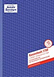 Avery Zweckform 1756 - Libro de cuentas para declaración de impuestos (A4, 40 hojas, en alemán), color azul