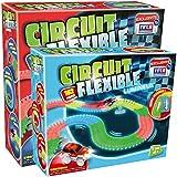 Circuit Flexible et Lumineux 382 pcs – Le circuit de voitures dont les rails se tordent à volonté et s'illuminent