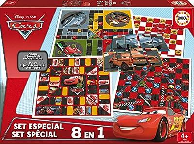 Educa - 16388 - Set Spécial - 8 en 1 - Cars