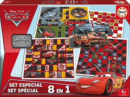 Educa Borrás Cars - Set Especial 8 en 1, Juego de Mesa 16388