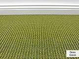 Die HEVO® Sisal Naturfaser Kollektion - Manolo Sisal Teppichboden in 5 Farben - Inkl. 2% HEVO® Bestellgutschein - Grass Green