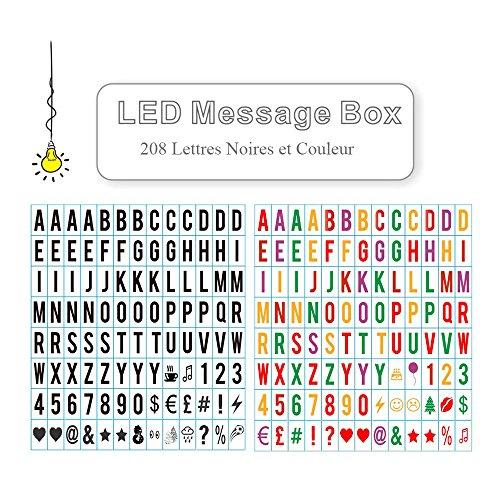 aoxun-208-lettres-light-box-noires-et-couleur-led-lettres-acryliques-numros-et-symboles-pour-lightbo
