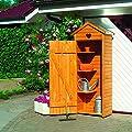 Holz-Geräteschrank Modena Gerätehaus Schuppen Schrank von Promadino bei Du und dein Garten