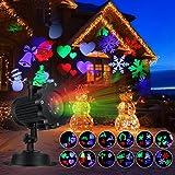 Luces de Proyector Navidad, B-right Lámpara de Proyector con 12 Patrones...