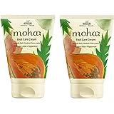 moha: Foot Care Cream For Rough, Dry and Cracked Heel   Feet Cream For Heel Repair   Unisex Foot Cream. (100 Gram ( 50 Gram X