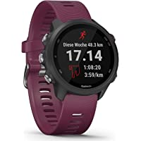 Garmin Forerunner 245 GPS Running Watch with Individual Training Plans, Special Running Features & Detailed Training…