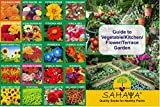 #1: SAHAYA Flower Seeds With Instruction Guide Booklet(20 Varieties)(4190 + Seeds)