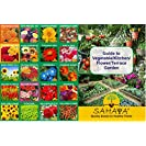 SAHAYA Flower Seeds With Instruction Guide Booklet