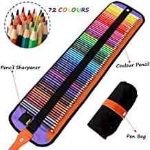 El mejor set de 72 lápices de colores de Meloive. Los mejores lápices para colorear para artistas, dibujantes, ilustradores, diseñadores de interiores, estudiantes y adultos amantes de colorar como regalo de navidad.