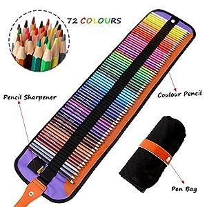 Meloive El Mejor Set de 72 lápices de Colores Mejores lápices para Colorear para Artistas, dibujantes, ilustradores…