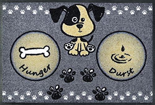 Kleen-tex Komfortmatte Hundemahlzeit 50 x 75 cm wash + dry by KleenTex