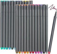 JER 0,38 mm Feinstrichzeichnung Pen Porous Fine Point Marker Linie Pens Fineliner Farbstift Set für 10Pcs Gemälde Signing Bürobedarf