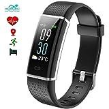 EFOSHM Fitness Armband, Fitness Tracker mit Pulsmesser Farbbildschirm Aktivitätstracker Schrittzähler Uhr mit 14 Trainingsmodi Kalorienzähler SchlafMonitor für Android und IOS Smartphones.