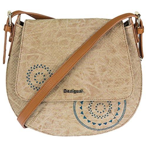 Desigual Umhängetasche Schultertasche Shoulder Bag BOLS GENOVA CALYPSO 72X9YB6 desierto