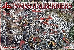 Redbox Alabarderos suizos, Siglo 16 (1:72)