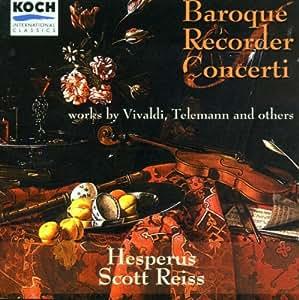 Barocke Blockflötenkonzerte