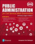Public Administration   For Civil Services Main Examination   With Optional Subject Paper - II   First Edition   By Pearson