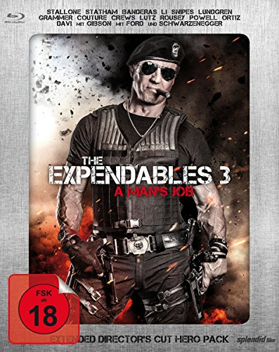 The Expendables 3 - A Man's Job - Extended Director's Cut - Limited Hero Pack - Dolby Atmos [Blu-ray] -