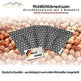 Großes Kirschkernkissen/Entspannungskissen zur Wärmebehandlung - Heizkissen...