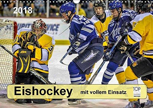Mit vollem Einsatz - Eishockey (Wandkalender 2018 DIN A3 quer): Eishockey, Teamsport der Extra-Klasse - beispiellose Kombination von körperlicher ... ... Sport) [Kalender] [Apr 01, 2017] Roder, Peter