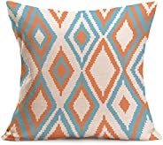 💕💕 Bohemian Geometric Style Cotton Linen Throw Pillowcase Sofa Cushion Cover Case