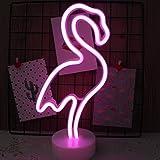 NIWWIN Enseigne lumineuse au néon LED décoration murale veilleuse USB/néon à piles pour noël anniversaire cadeau fête enfants