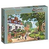 "Falcon de luxe ""Around Britain Brenchley Village"" Jigsaw Puzzle (1000-Piece)"