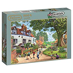 Jumbo - Puzzle Around Britain Brenchley Village, 1000 Piezas (611144)