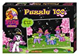 Noris 606031217 - Filly Witchy Black - Mimic, Cloude und Celistia Puzzle, 100 Teile